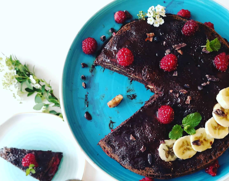 Шоколадови нахутени палачинки