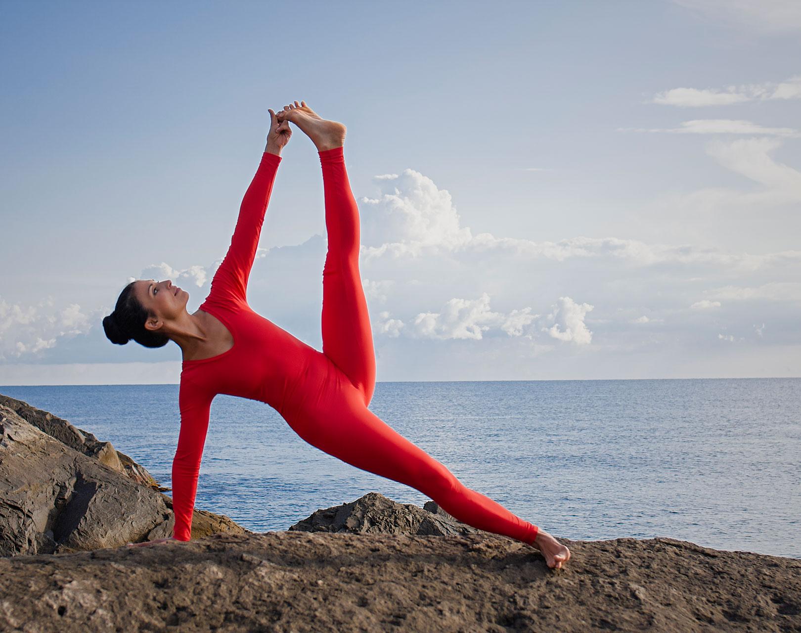 Айенгар йога клас за Ратха Ятра фестивал