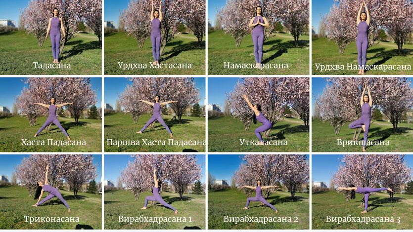 Как лесно да научим имената на асаните в Айенгар йога?
