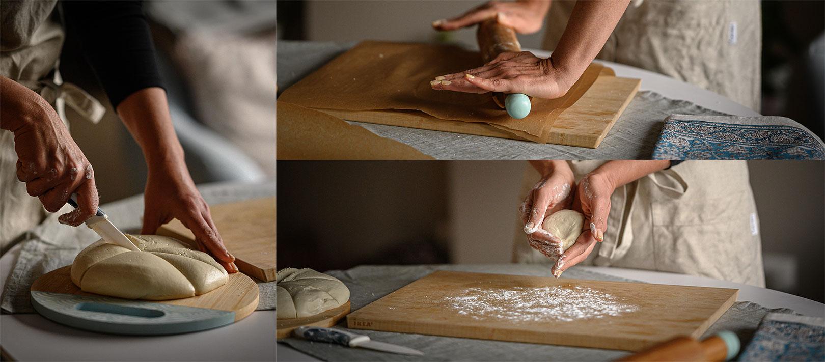 Веган наан – плосък хляб
