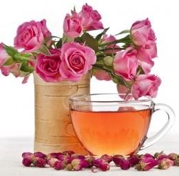 Чай от рози при менструални болки